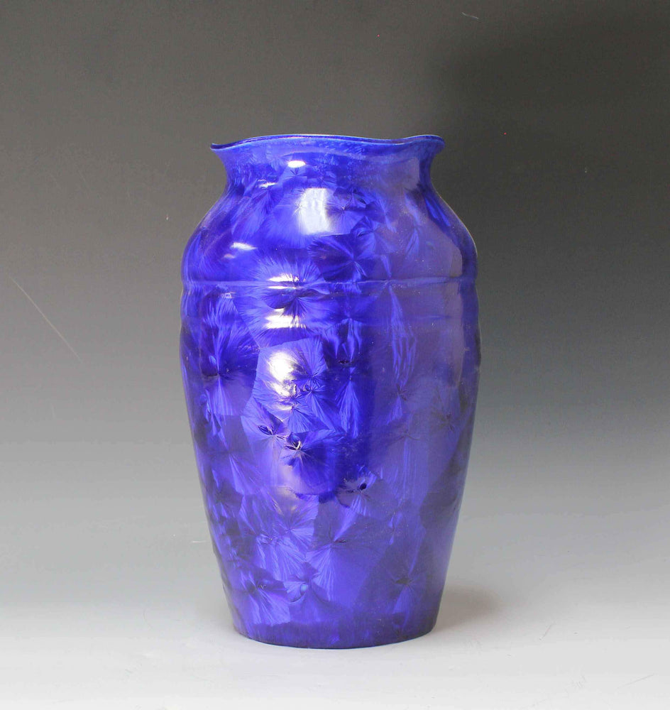 Cobalt Blue Flower Vase