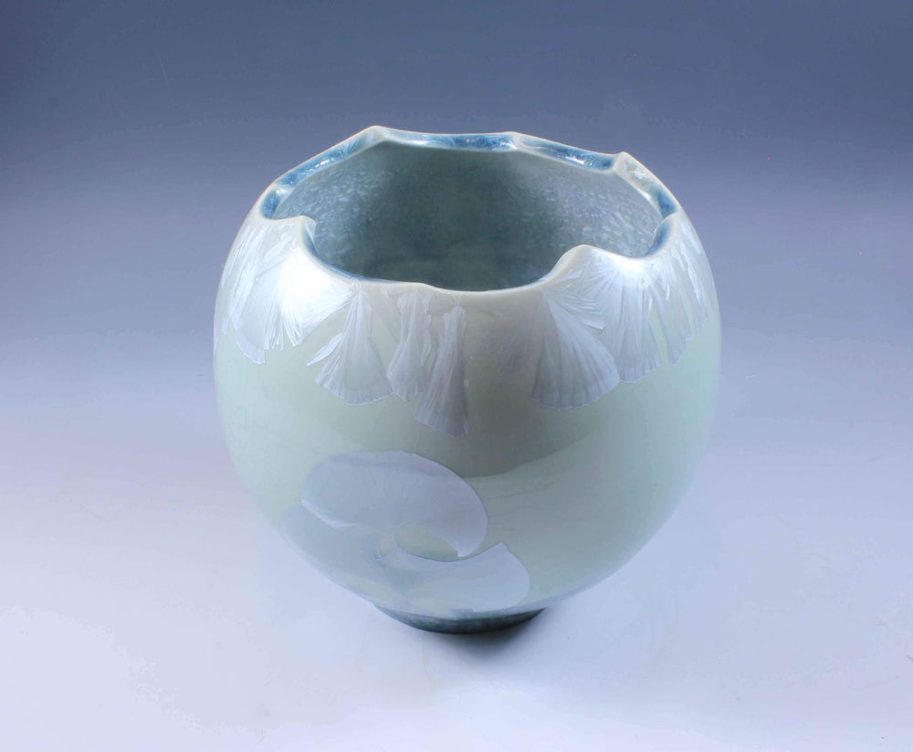 Light Blue Porcelain Form