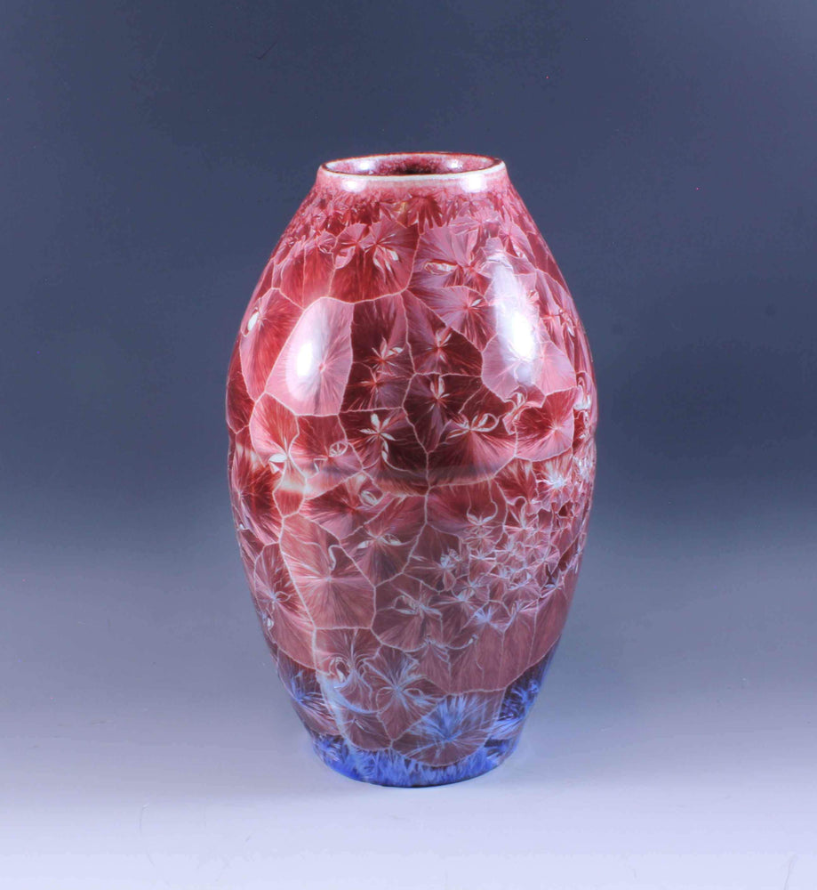 Duly Mitchell-Sorrel Sky Gallery-Pottery-Red Porcelain Vase