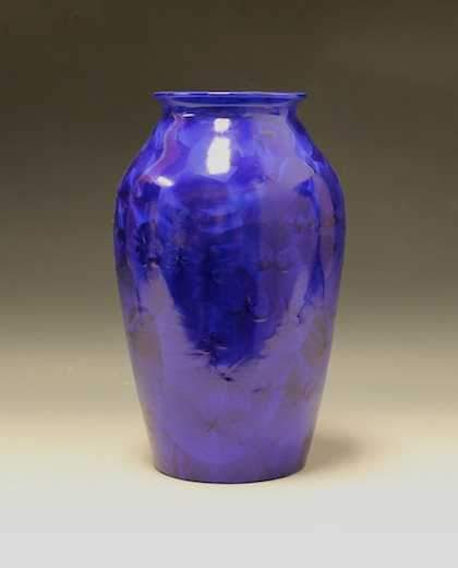 Cobalt Blue Flowering Vase