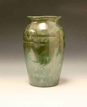 Duly Mitchell-Sorrel Sky Gallery-Sculpture-Green Flowering Vase