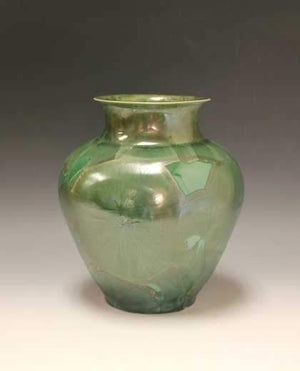 Duly Mitchell-Sorrel Sky Gallery-Sculpture-Green Vase