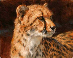Edward Aldrich-Cheetah Portrait-Sorrel Sky Gallery-Painting