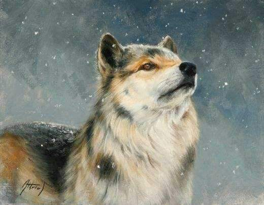 Edward Aldrich-Flurries-Sorrel Sky Gallery-Painting