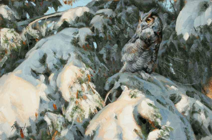 Edward Aldrich-Hidden in Plain Sight-Sorrel Sky Gallery-Painting