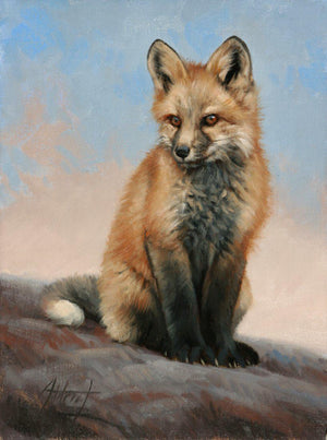 Little One-Painting-Edward Aldrich-Sorrel Sky Gallery