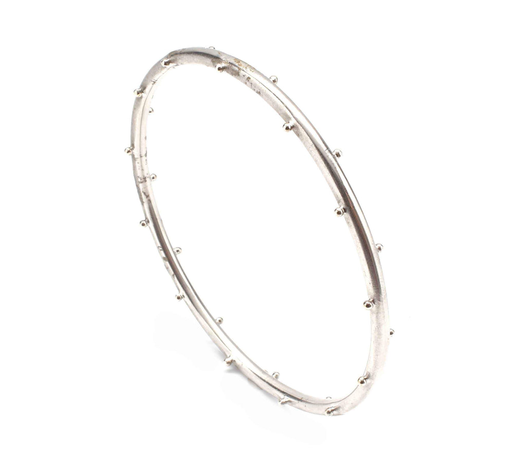 Elizabeth Showers-Sorrel Sky Gallery-Jewelry-Ball Wire Bangle