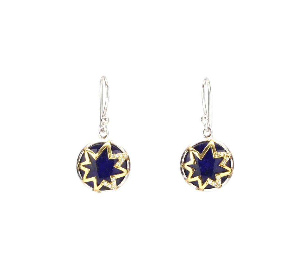 Elizabeth Showers-Sorrel Sky Gallery-Jewelry-Hope Star Decoder Earrings
