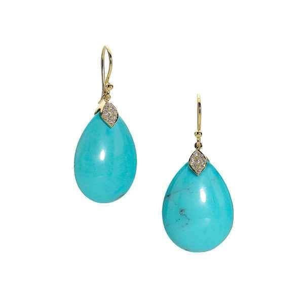 Large Eliza Teardrop Earrings