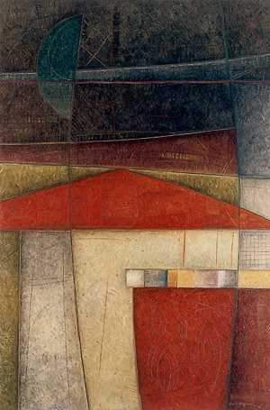 Erica Hopper-Sorrel Sky Gallery-Print-Red Roof