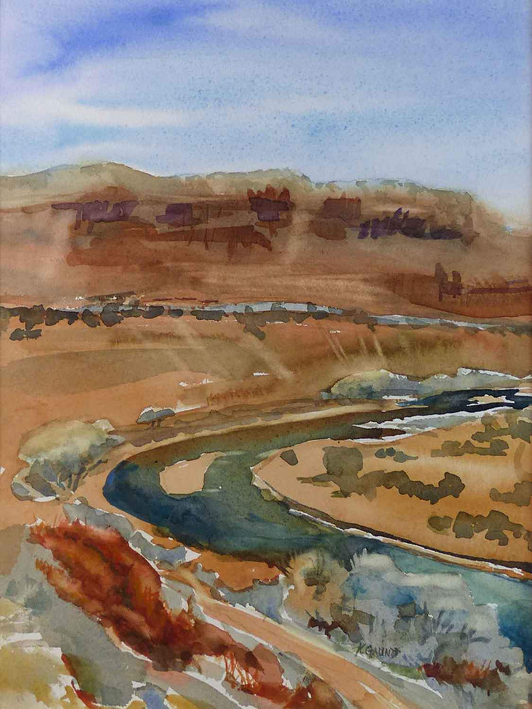 Chama River Bend-Painting-Gauntt, Katherine-Sorrel Sky Gallery