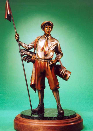 George Lundeen-Sorrel Sky Gallery-Sculpture-Caddy