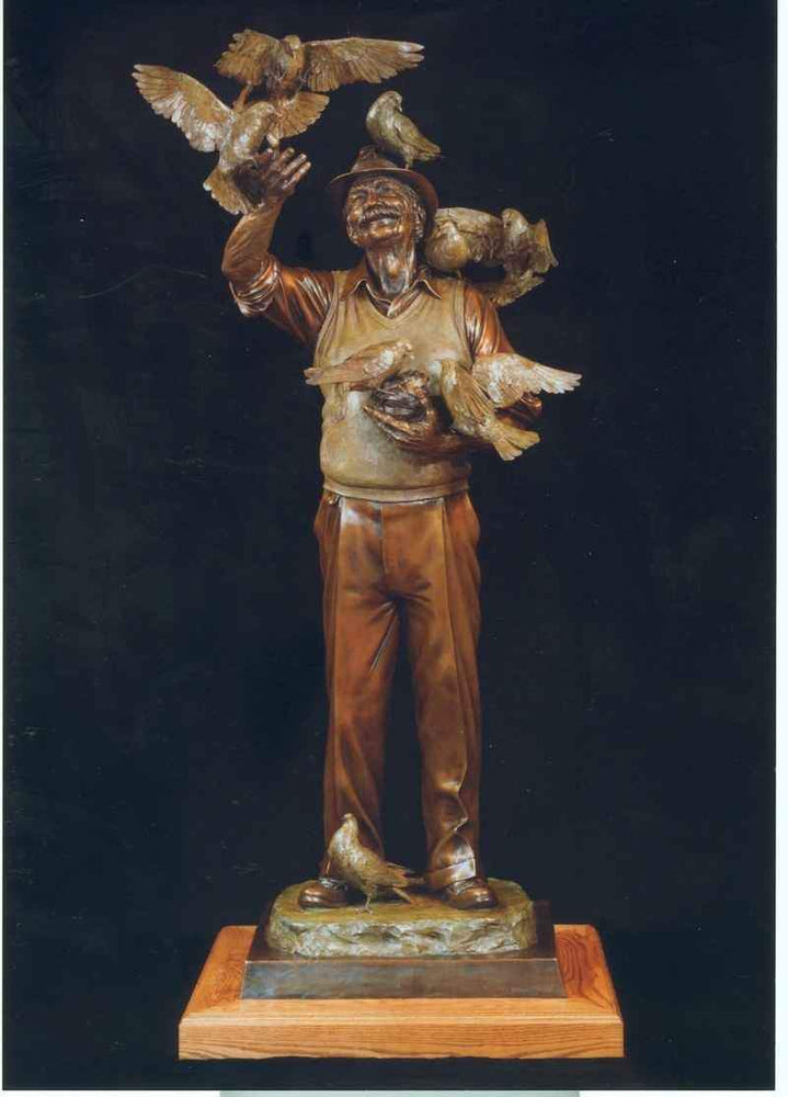 George Lundeen-Sorrel Sky Gallery-Sculpture-Old Friends