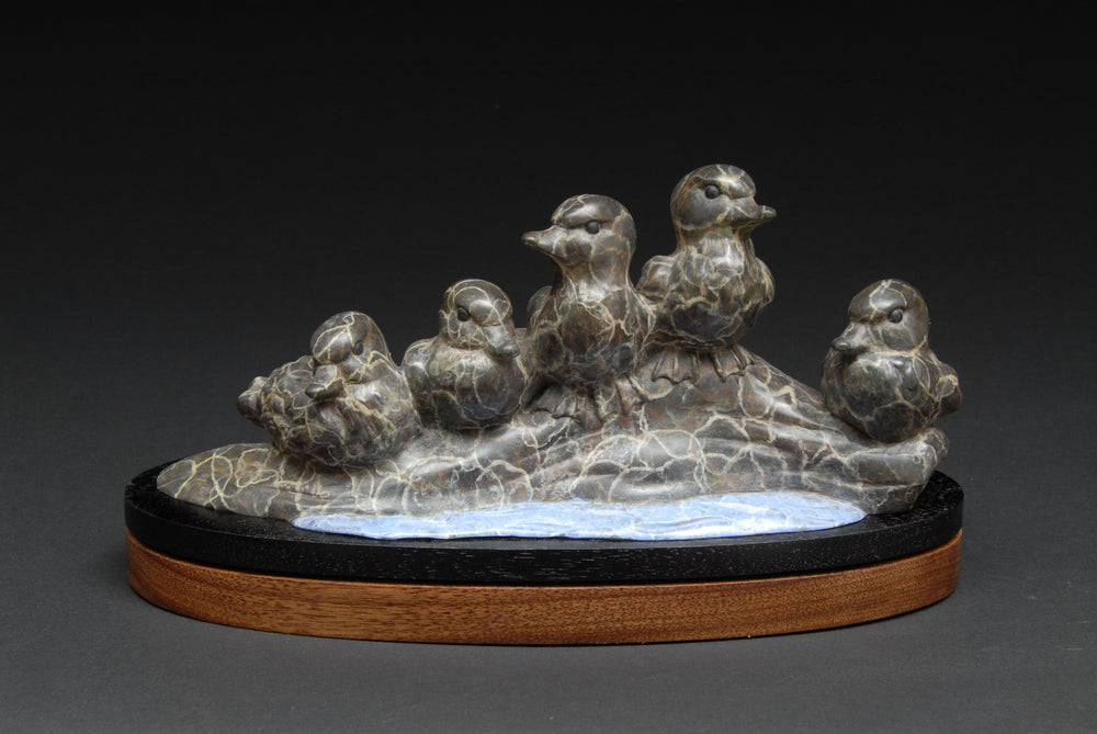Drifting Down The River-Sculpture-Gerald Balciar-Sorrel Sky Gallery