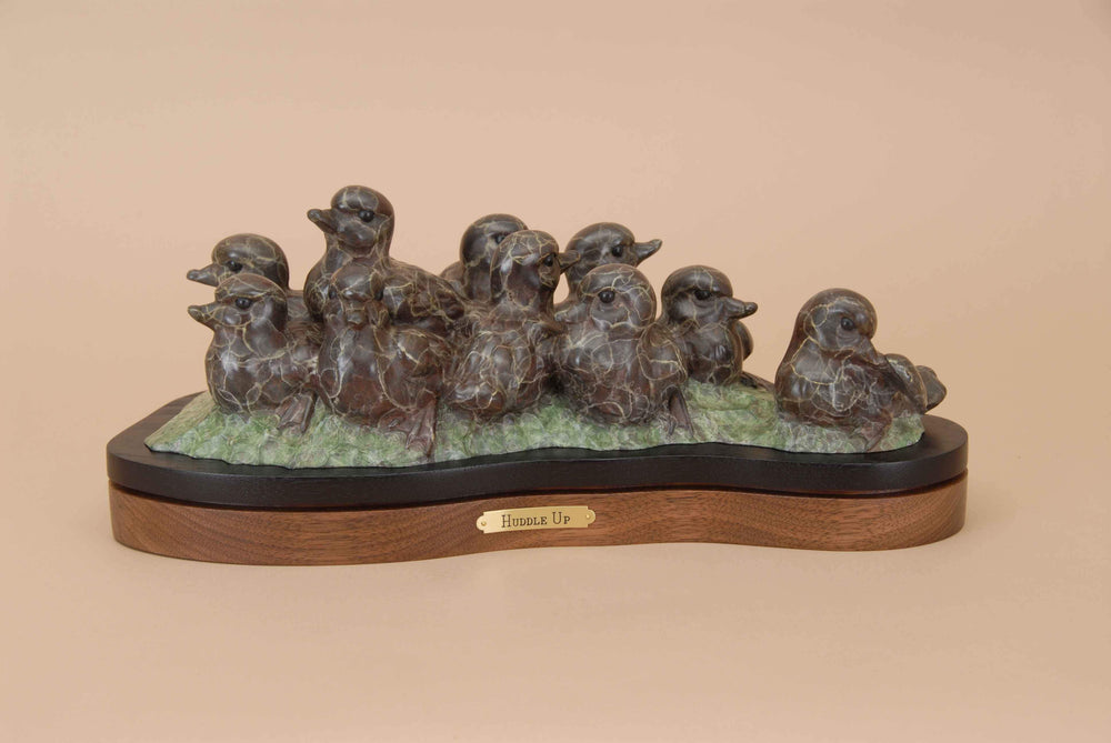 Gerald Balciar-Sorrel Sky Gallery-Sculpture-Huddle Up