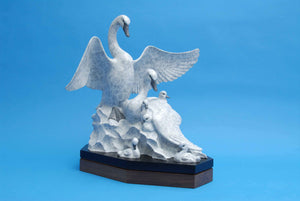 Gerald Balciar-Sorrel Sky Gallery-Sculpture-Shelter Of My Wings