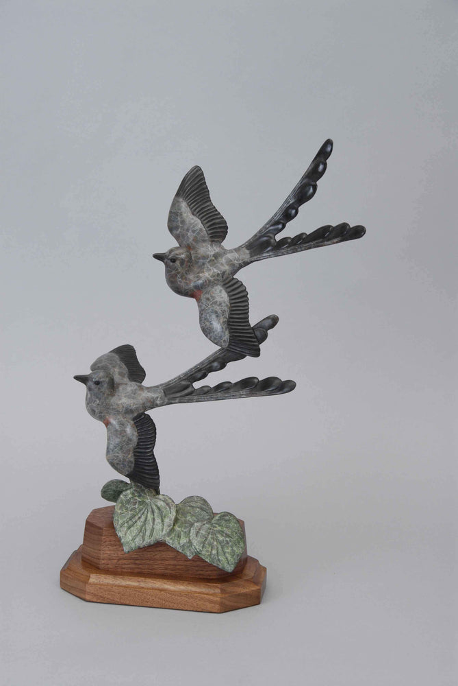 Gerald Balciar-Sorrel Sky Gallery-Sculpture-Thru The Redbud
