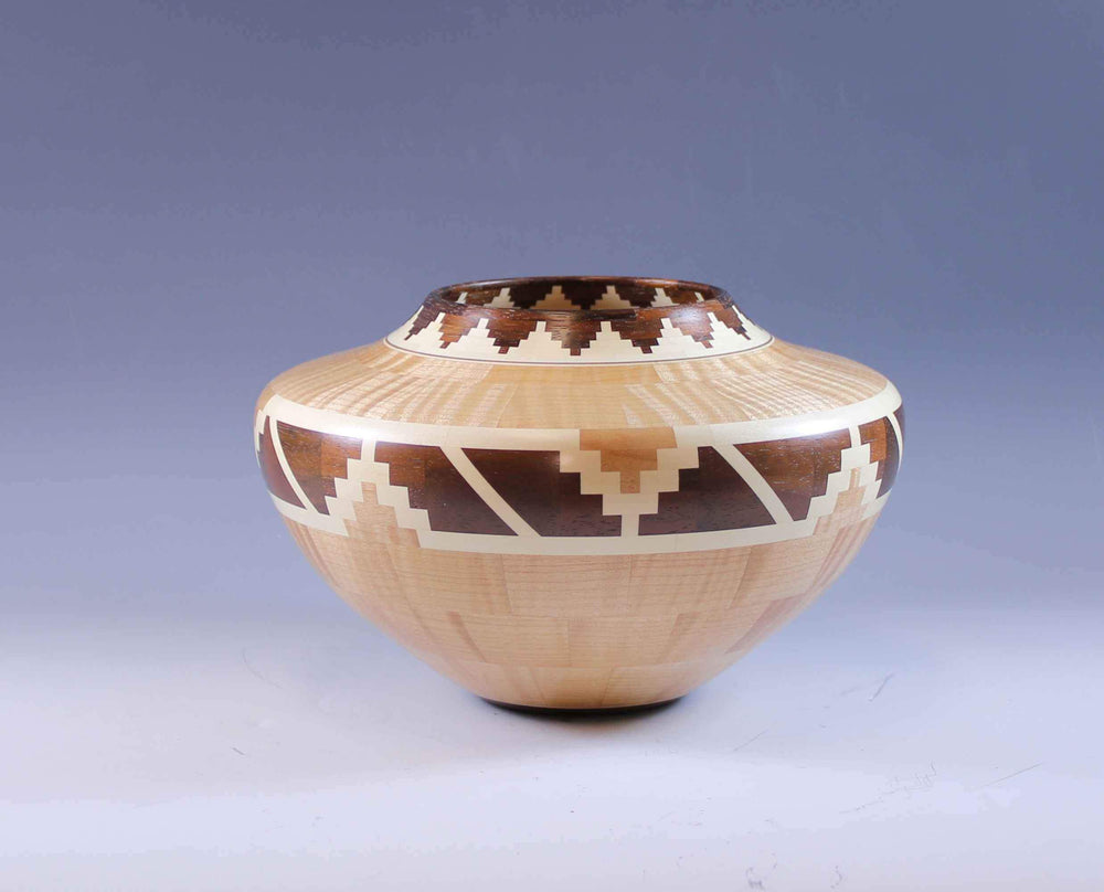 Glen Crandall-Sorrel Sky Gallery-Sculpture-Tiger Maple Turning