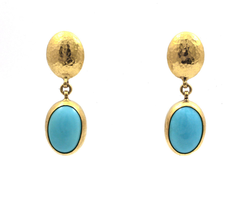Amulet Hue Turquoise Earrings