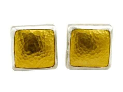 Amulet Square Earrings