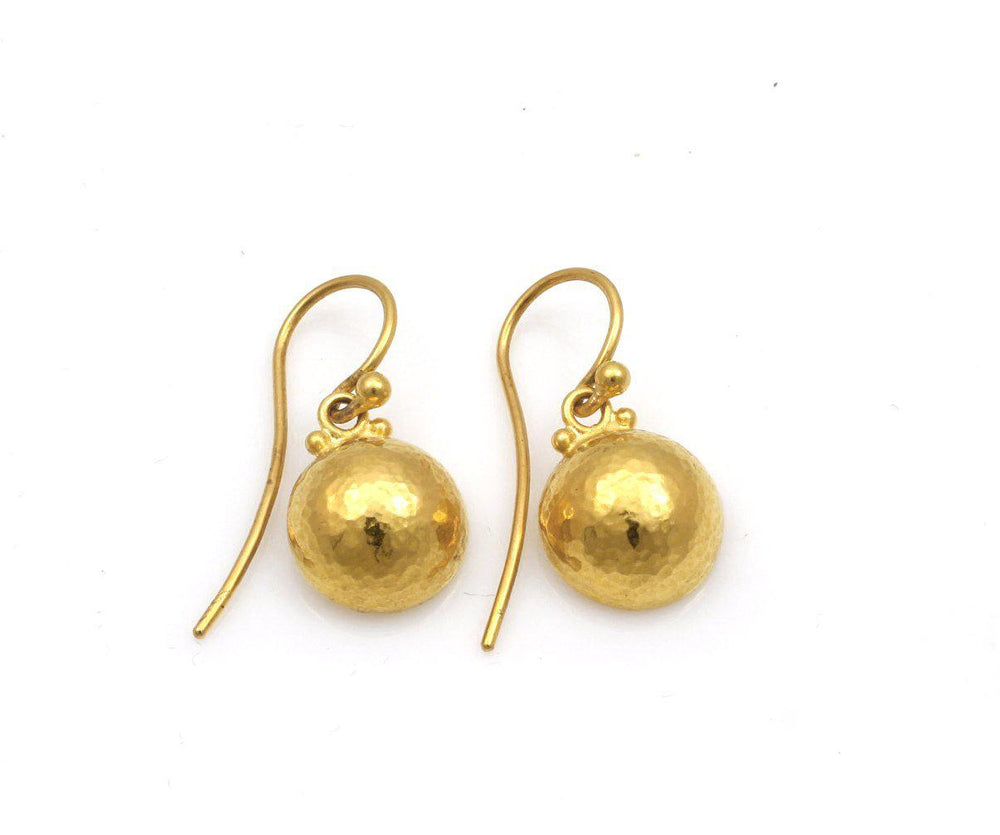 Dome Dangling Earrings