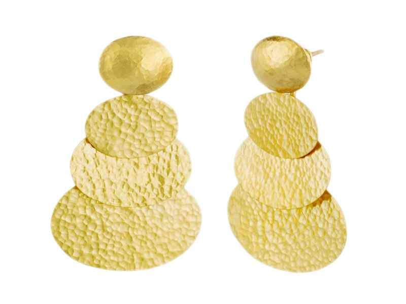 Layered Mango Earrings