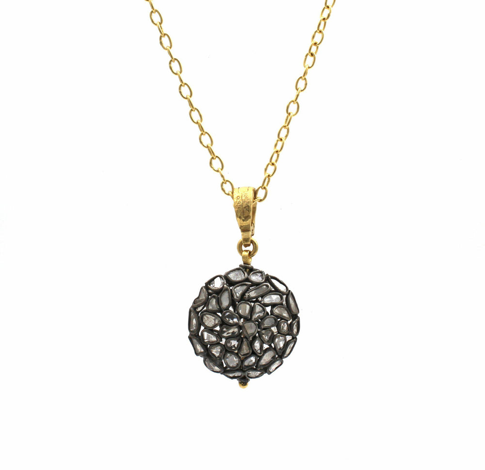 Round Ball Pastiche Necklace