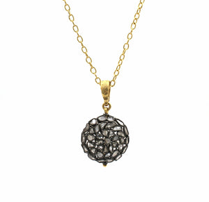 GURHAN-Round Ball Pastiche Necklace-Sorrel Sky Gallery-Jewelry
