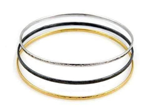 GURHAN-Silver and Gold Bangles-Sorrel Sky Gallery-Jewelry