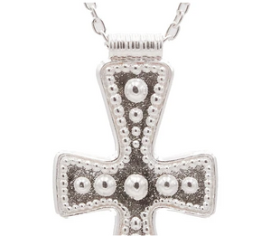 Silver Cross Pendant-Jewelry-GURHAN-Sorrel Sky Gallery