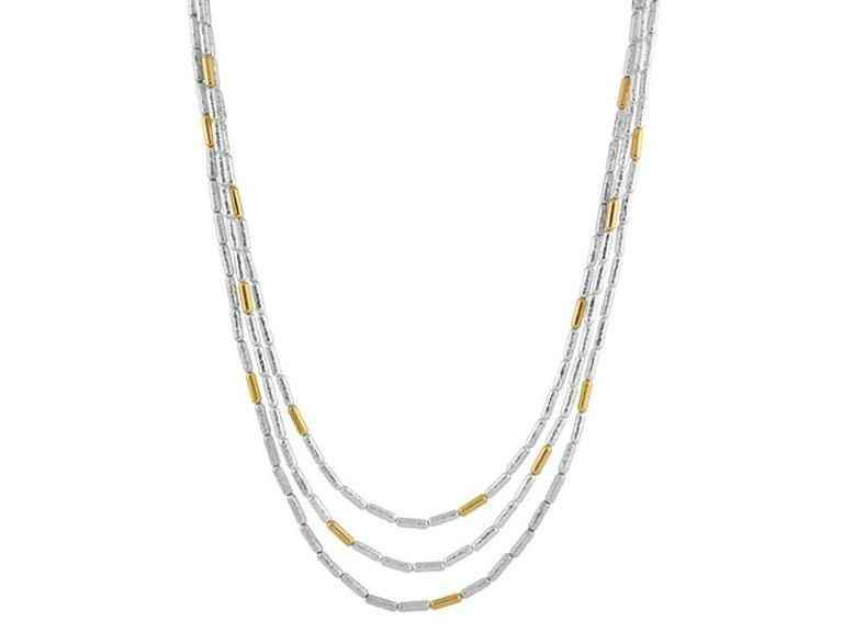 Vertigo Triple Strand Necklace