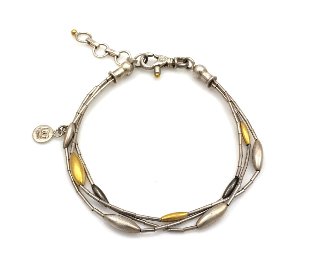 Wheat Rain Bracelet-Jewelry-GURHAN-Sorrel Sky Gallery