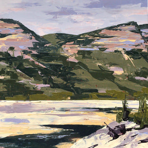 Haviland Lake Low Tide-Painting-Hadley Rampton-Sorrel Sky Gallery
