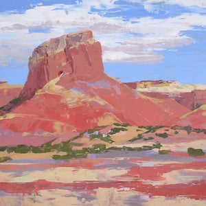 Homage to O'Keeffe, Ghost Ranch-Painting-Hadley Rampton-Sorrel Sky Gallery