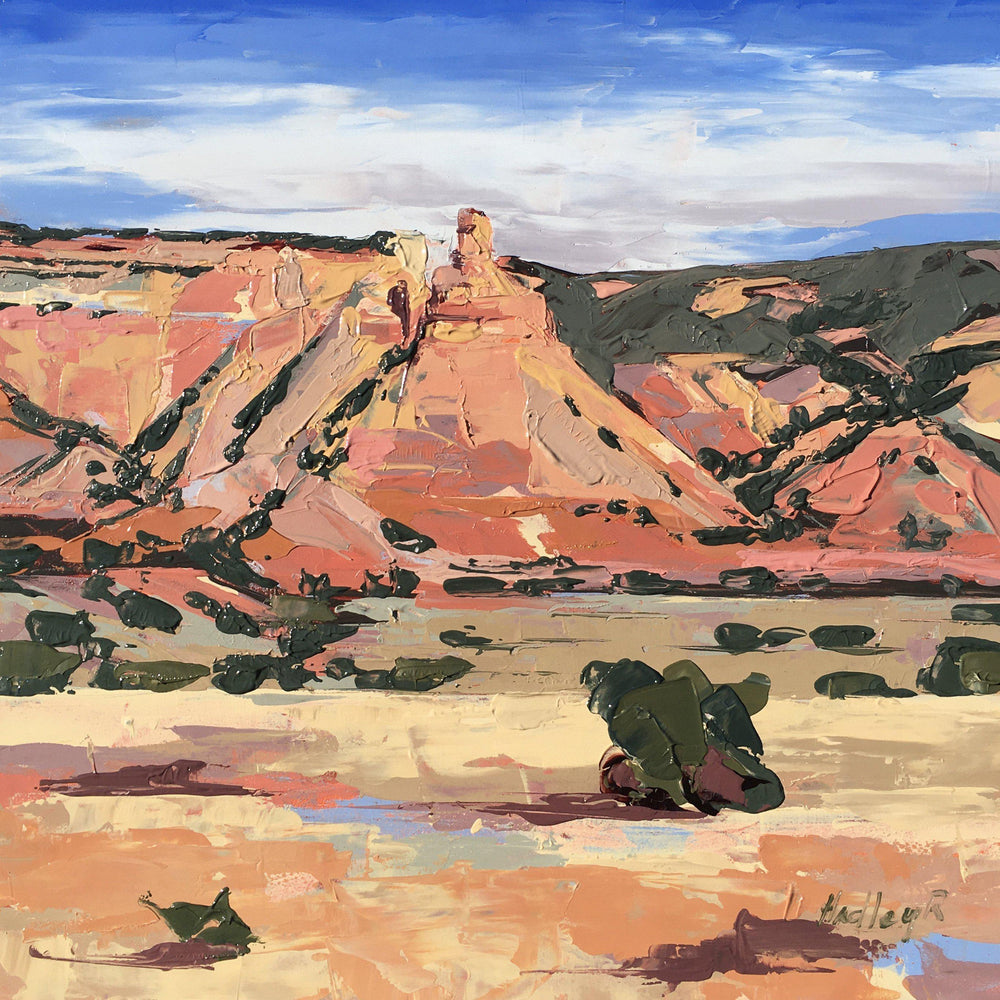Local Colors, Ghost Ranch-Painting-Hadley Rampton-Sorrel Sky Gallery