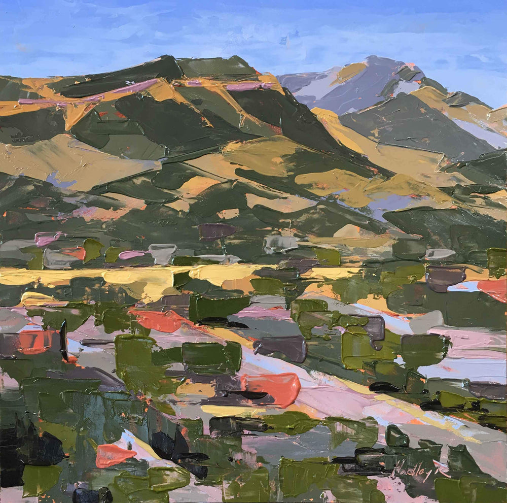 Plein Air Painting with a Palette Knife with Hadley Rampton | May 1 - 3 | DURANGO-Workshop-Hadley Rampton-Sorrel Sky Gallery