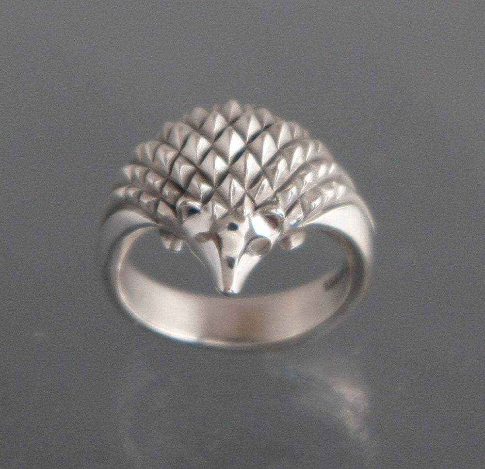 Hedgehog Ring - Sterling Silver