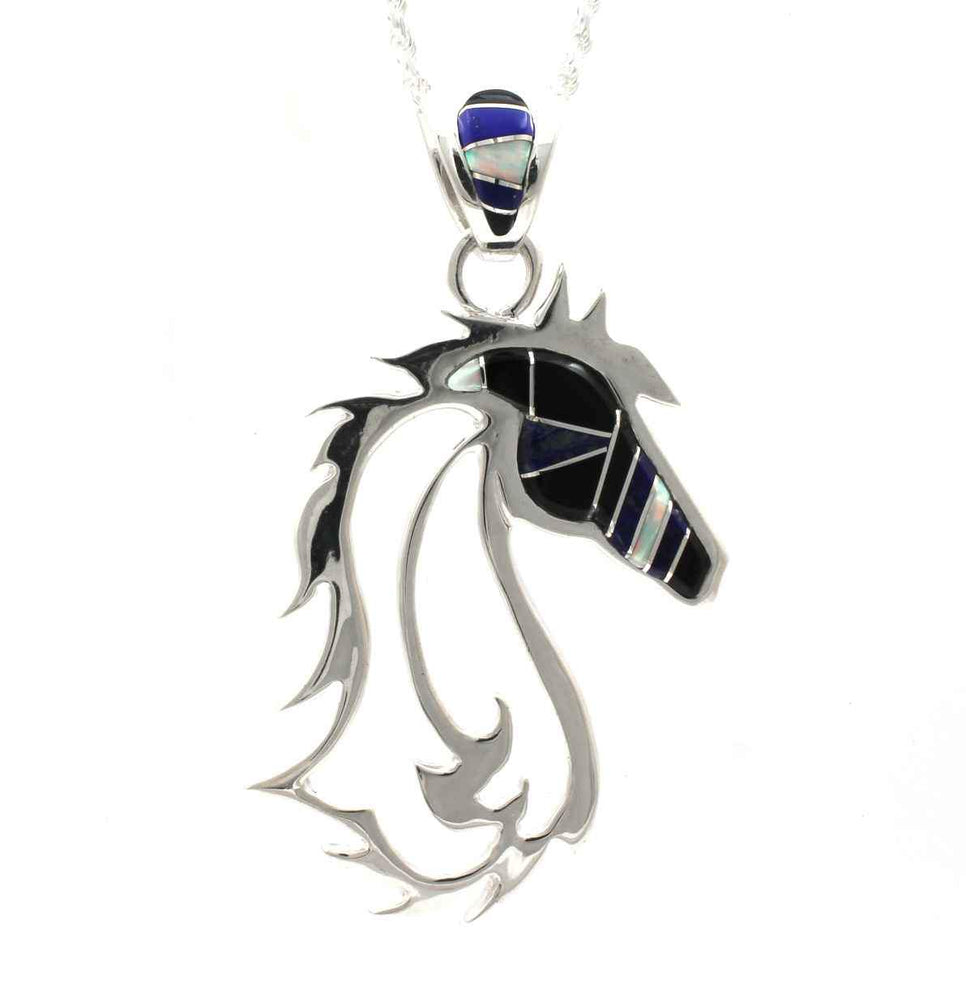 Horses in the Wind Pendant