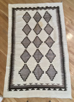 Geometric Navajo Rug by Unknown Weaver