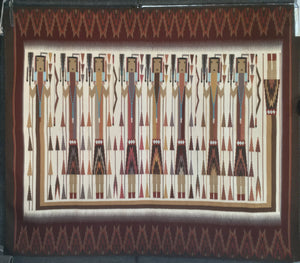 Yei Weaving by Nellie Nez-Weaving-Jackson Clark-Sorrel Sky Gallery