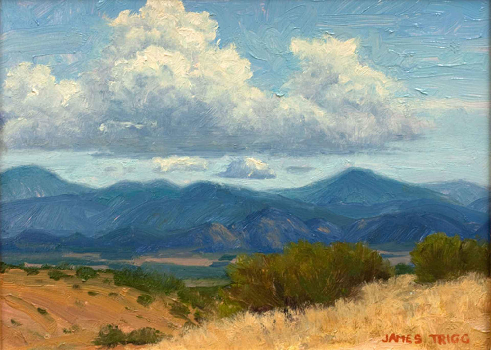 James Trigg-Sorrel Sky Gallery-Painting-August Morning