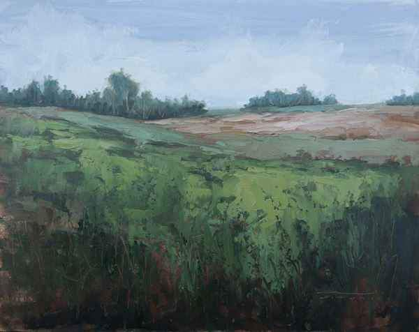 Jane Hunt-Sorrel Sky Gallery-Painting-Door County Farmland