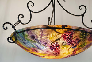 Romance in the Vineyards Chandelier-Sculpture-Jenny Floravita-Sorrel Sky Gallery