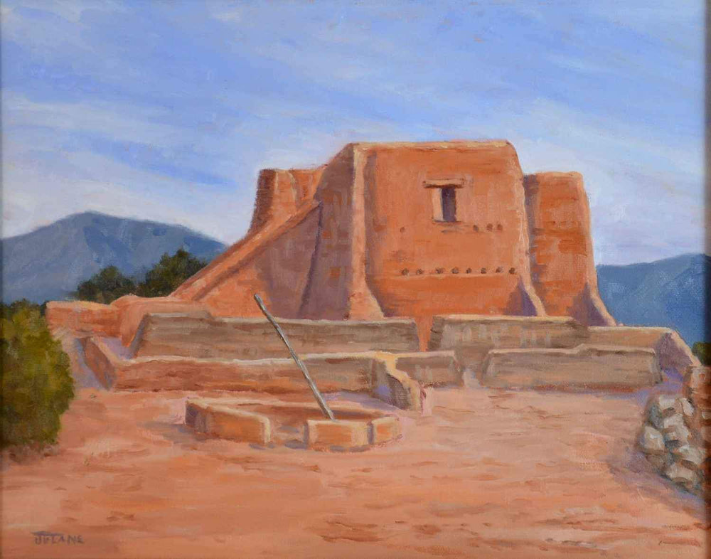 Ancient Memories - Pecos National Park-Painting-Jensen, Julane-Sorrel Sky Gallery