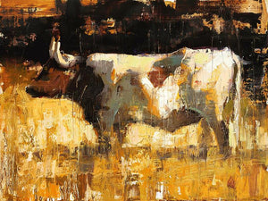 Longhorn-Painting-Jerry Markham-Sorrel Sky Gallery