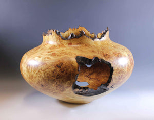 Jerry Wedekind-Sorrel Sky Gallery-Sculpture-Aspen Burl Turning