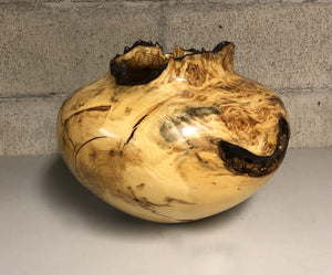 Aspen Burl Hollow Turning-Wood Turning-Jerry Wedekind-Sorrel Sky Gallery
