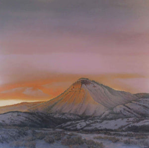 Jim Bagley-Sorrel Sky Gallery-Painting-A Durango Sunset