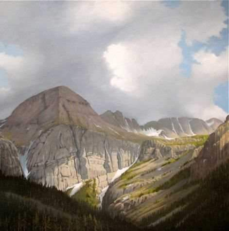 Jim Bagley-Sorrel Sky Gallery-Painting-Above Silverton