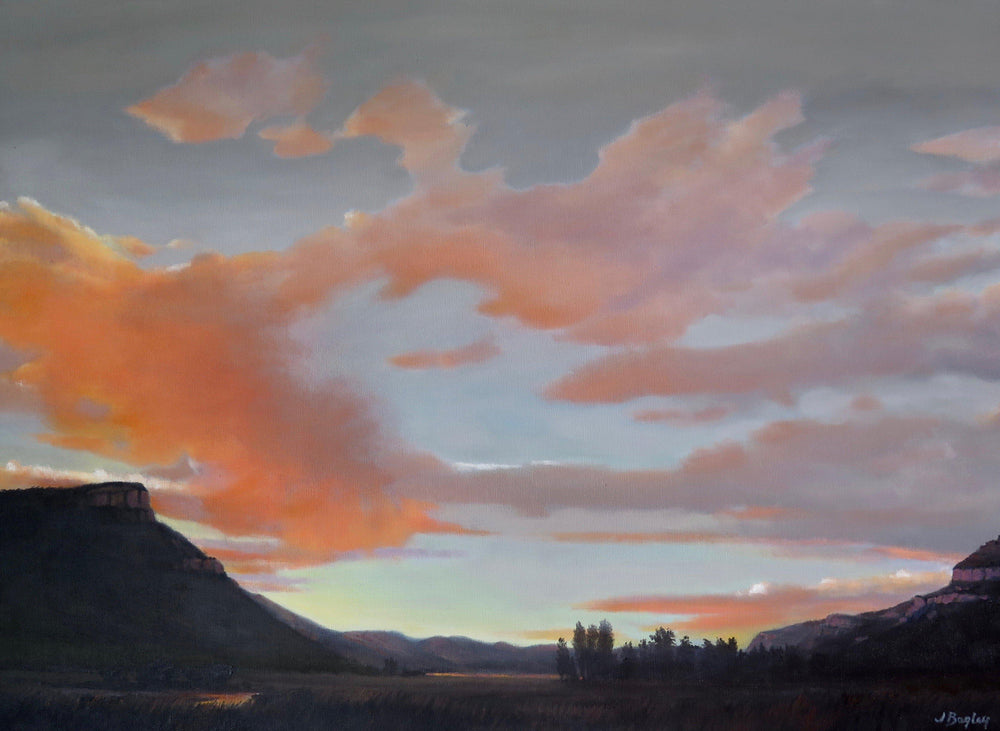 Animas Valley Sunset-Painting-Jim Bagley-Sorrel Sky Gallery